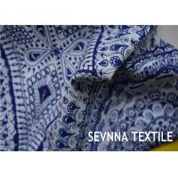 Quality Screen Printing Tricot Recycled Polyester Fabric 72% Recycled Repreve Poly With 28% Spandex wholesale