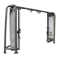 Quality 430kg Heavy Duty Gym Equipment Adjustable Dual Cable Crossover Price Machine wholesale
