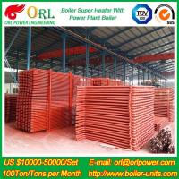 Quality 100M CFB Boiler Superheater Petrochemical Natural Gas Industry Boiler Spare Part wholesale