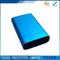 Quality Blue Rapid Prototyping CNC Machining Aluminum Shell For Portable Charger wholesale