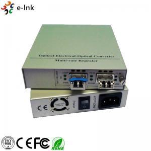 Quality 10G Fiber Ethernet Media Converter Standalone SFP+ to UTP 10G Media Converter wholesale
