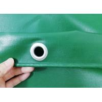 Quality 650gsm Waterproof UV Stabilized PVC Truck Cover B1 Flame Retardant In Green Color wholesale