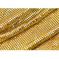 China 4mm Beautiful Shiny aluminum Metal Sequin Fabric for decoration on sale