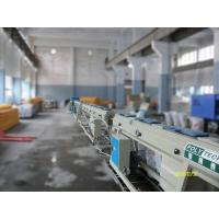 Quality 110kw PPR Pipe Extrusion Machine Line / Pipe Making Machine 16 - 63mm With Single Screw Extruder wholesale