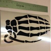 Quality car truck strong adhesive Vinyl Lettering Stickers of eco-solvent / eco-solvent printing wholesale