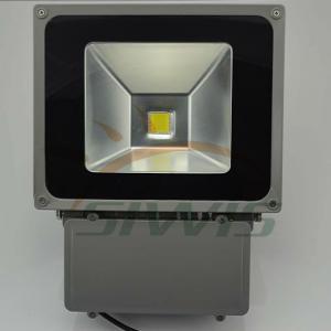 Quality 80 Watt LED Flood Lights Outdoor 12V IP65 8000 Lumen For Square , 2700K-7000K wholesale