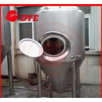 Quality Manual Industrial Beer Brewing Equipment With Mash Tun , Conical Beer Fermenter wholesale