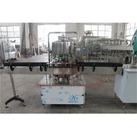 Quality 500 - 1000 BPH CSD Beverage Filling And Capping Machine For Plastic Bottle Water Juice wholesale