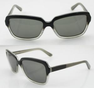Quality Unisex Retro Rectangle Acetate Frame Sunglasses With CR39 Lens wholesale