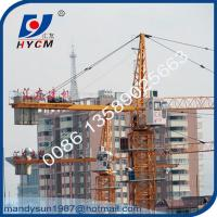 Quality 50m Jib 6t Hammer Head Tower Crane Widely Used for High Rise Building Construction wholesale