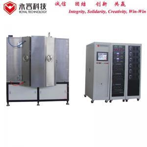 Quality Zinc Alloy Door Handle PVD Plating System , Hybrid Vacuum Metallizing Machine wholesale