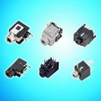 Quality Vertical and Right Angle 3.5mm Earphone Jacks, Connectible to A/V Systems wholesale