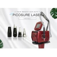 Quality Non - Invasive Laser Skin Treatment Nd Yag Laser Tattoo Removal Machine For Chest Or Decollete wholesale