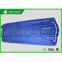 China Non Woven Elastic Disposable Fitted Bed Sheets , Disposable Surgical Drapes on sale
