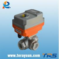 Quality Intelligent On-off Electric 3 Way Ball Valve Actuator wholesale