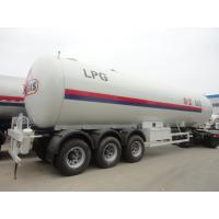 China Factory direct sale CLW brand bulk lpg gas transported tank, China famous 56m3 propane gas tank semitrailer for sale on sale