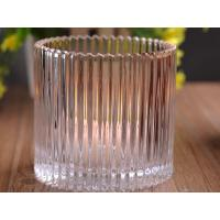 Quality 530Ml Personalized Glass Candle Holders For Table , Eco Friendly wholesale