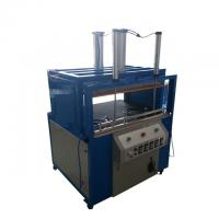 Quality Blue Textile Packing Machine Pillow Compress Machine 1 Year Guarantee wholesale