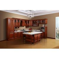 Quality solid wood kitchen cabinet wholesale