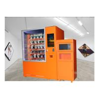 Quality 24 Hours Fast Food Vending Machine With Microwave Oven And Refrigerator wholesale