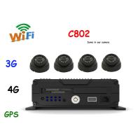 China Recoda C802 Dome in car cameras / AHD WIFI , 3G , 4G , GPS car Mounted Camera on sale