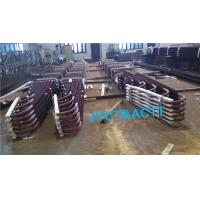 Quality Customized U Bend HFW Sprial Fin Tubes , Welded Continuous Bolier Fin Tube wholesale