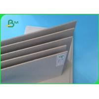 China Recycled Pulp 1.0mm 1.5mm Thickness Uncoated Grey Paper Board For Boxes on sale