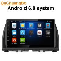 Quality Ouchuangbo car radio stereo navigation android 6.0 for Mazda Atenza 2014 with 1RAM music bluetooth wifi usb aux wholesale