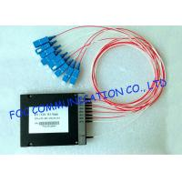 Quality MUX / DEMUX Wavelength Division Multiplexer Module For Telecom Networks , High Stability wholesale