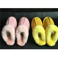Quality Ladies Australian sheepskin lined slipper mules 100% sheepskin shearling lining wholesale