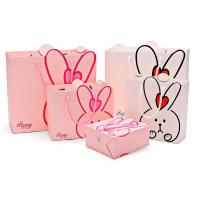 Quality Lovely Custom Printed Shopping Bags , Colored Paper Bags With Handles wholesale