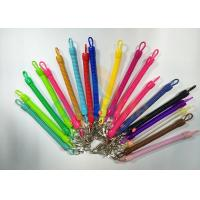 Buy cheap High Quality Safe Stretchy Spring Coil Cords Multi Colours For Clipping To Keys from wholesalers