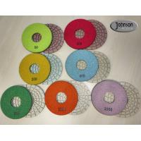 Quality 5 inch Ceramic Bond Dry Diamond Polishing Pads for Concrete high Effective wholesale