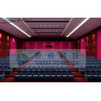 Quality Safty Protection Design 4D movie theatre for 24 Persons wholesale
