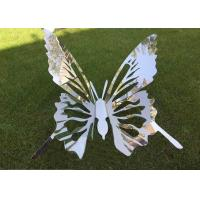 Buy cheap Artificial Style Metal Animal Sculptures Stainless Steel Garden Ornaments from wholesalers