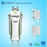 Quality Multifunctional Cryolipolysis Vacuum RF Cavitation Slimming Machine With Five Handles wholesale