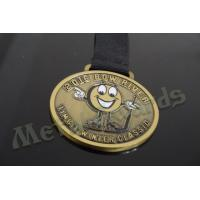 School Sports Day Medals For 5k Runs , Coolest Custom Race Medals No Minimum