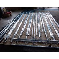 Quality Light Duty Aluminum Stage Truss Black Non - Rust / Durable For Exhibition wholesale