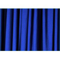 Quality Plain Dyed Polyester Spandex Blend Fabric Elastic Lycra Breathable wholesale