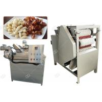 Quality Auto Almond Roasting Machine Peanut Blanching And Peeling Wet Type 150 Kg / H wholesale