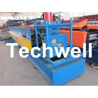 Quality Z Channel / Section / Profile Cold Roll Forming Machine For 80 - 300 Width Z Channel wholesale