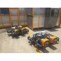 Cheap Inverter Power 37kw 1.5 Ton Construction Lifts For Required Logo , Gear Reducer Hoists for sale