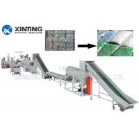 China Waste PET Bottle Recycling Machine Bottle Flakes Cleaning Line Automotive on sale