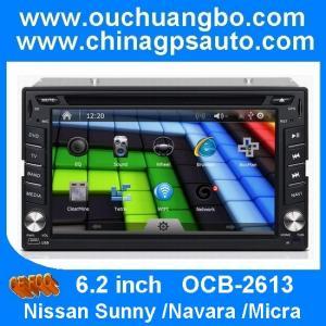 China Ouchuangbo Nissan Sunny /Navara /Micra car stereo with radio TV bluetooth mp4 player OCB-2613 on sale