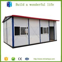 Quality german low cost two bedroom prefabricated steel house and wall panels wholesale