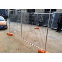 Quality Temporary Chain Link Fence Post Base / Temporary Steel Fencing Industrial Style wholesale