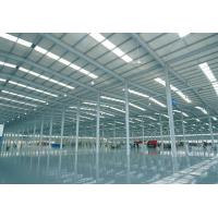 China Large Span Pre engineered Steel Frame Structure Warehouse Buildings on sale