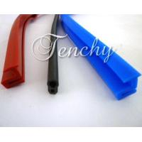 Quality Solid Silicone Rubber Seal Extrusion Profiles For Heat Resistant Weather Stripping wholesale