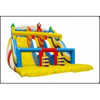China Safety Colorful Inflatable Bounce and Slide Combo Inflatable Bounce Trampoline for Kids and Adults on sale