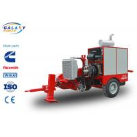 Quality Diesel Hydraulic Pulley Transmission Line Equipment Low Power Consumption wholesale
